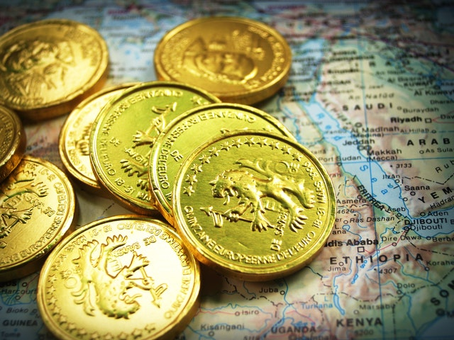 zlaté mince